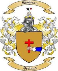Mageean family crest