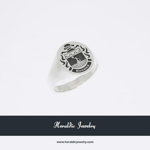 Magner family crest ring