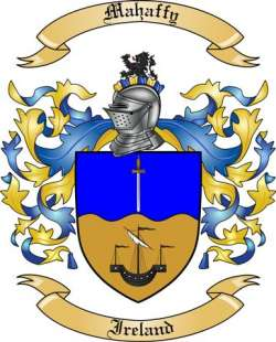 Mahaffy family crest