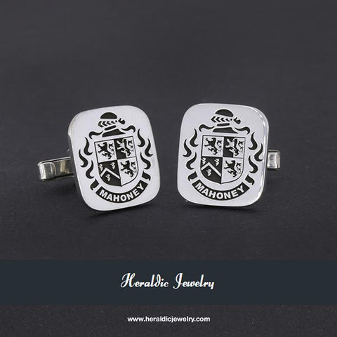 O'Mahoney crest cufflinks