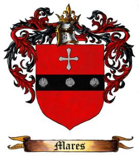 Mares family crest