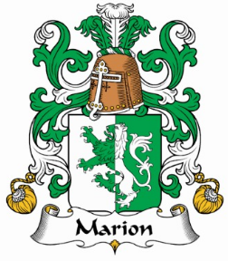 Marion family crest