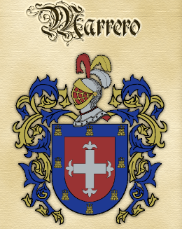 Marrero family crest