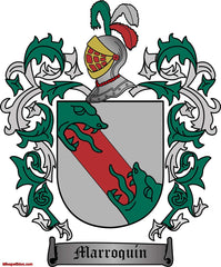 Marroquin family crest