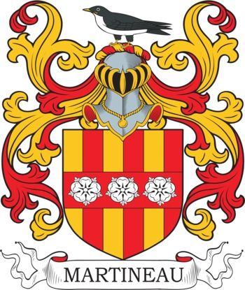 Martineau family crest