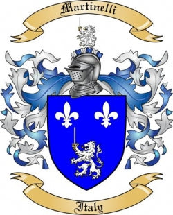 Martinelli fmaily crest
