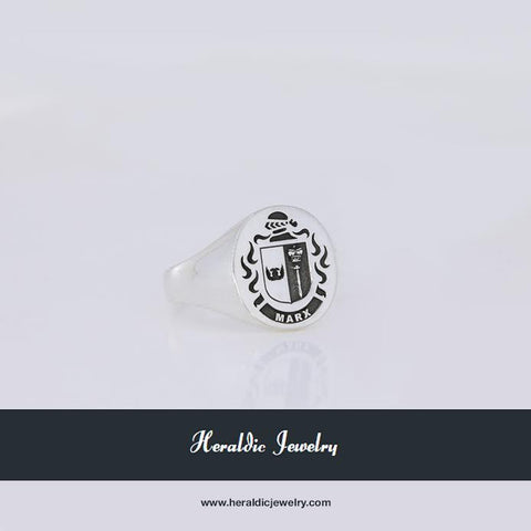 Marx family crest ring