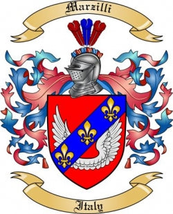 Marzilli family crest