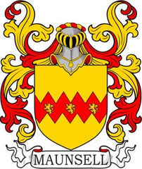 Maunsell family crest