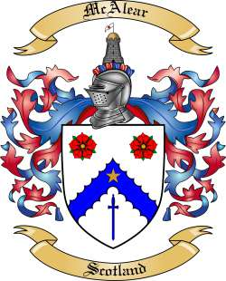 McAlear family crest
