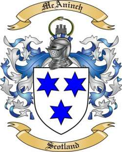 McAninch family crest
