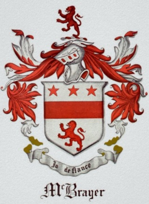McBrayer family crest