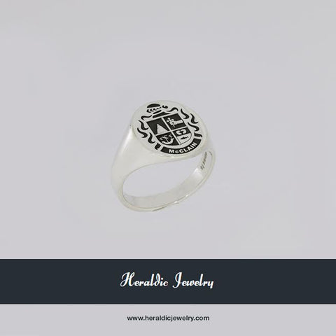 McClaine family crest ring