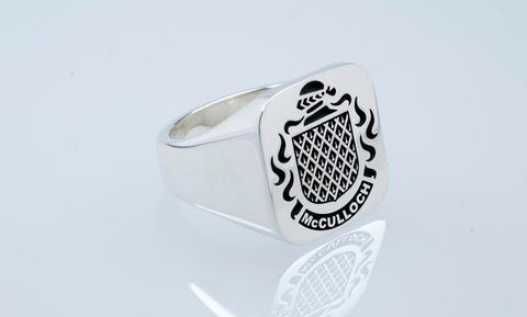 McCulloch family crest ring