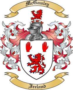 McGauley family crest