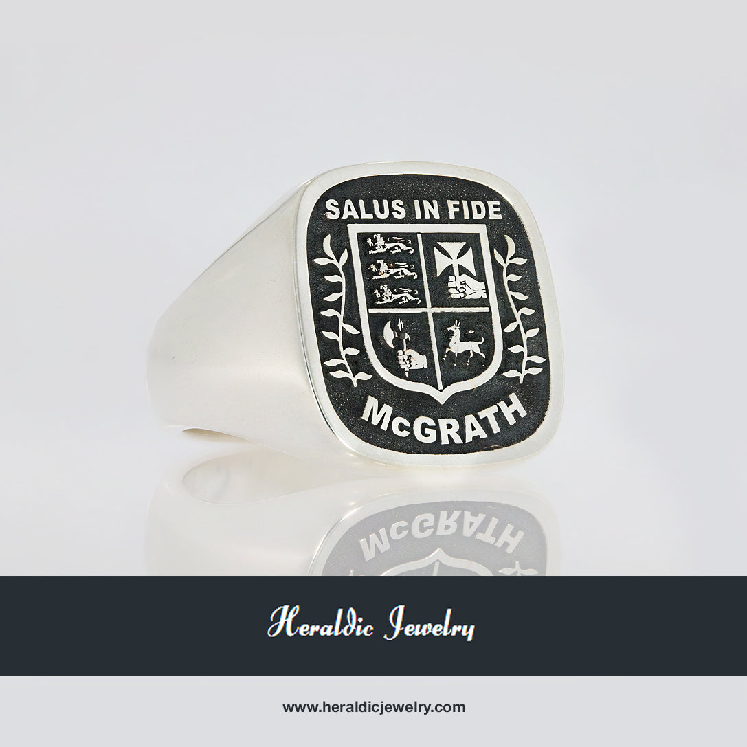 McGrath family crest ring