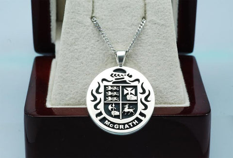 McGrath family crest pendant