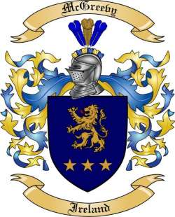 McGreevy family crest