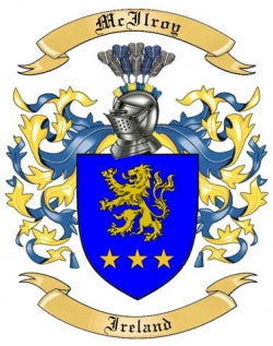 McIlroy Family Crest