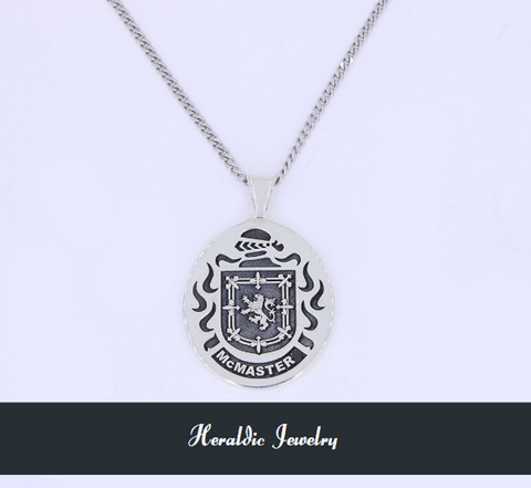 McMaster family crest pendant