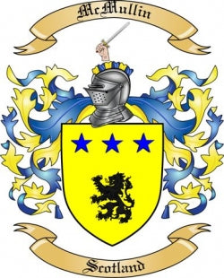 McMullin family crest