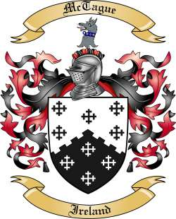 McTague family crest