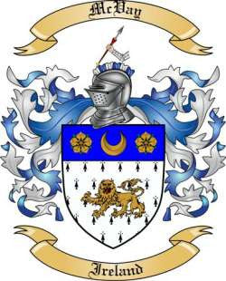 McVay family crest