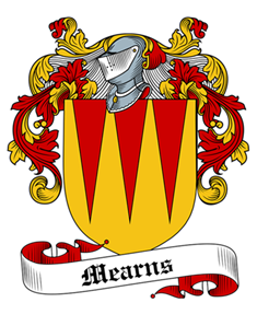 Mearns family crest