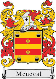 Menocal family crest