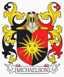 Michaelson family crest