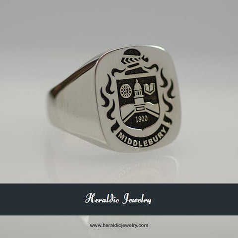 Middlebury family crest ring