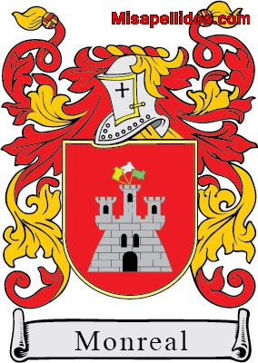 Monreal family crest