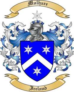 Mulhare family crest