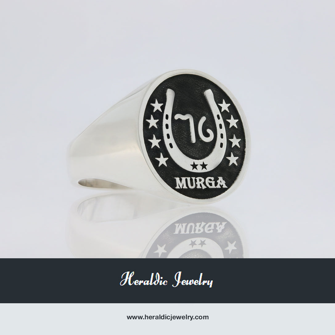 Murga family crest ring