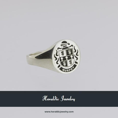 Murphy family crest ring