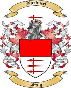 Narducci family crest