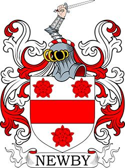 Newby family crest