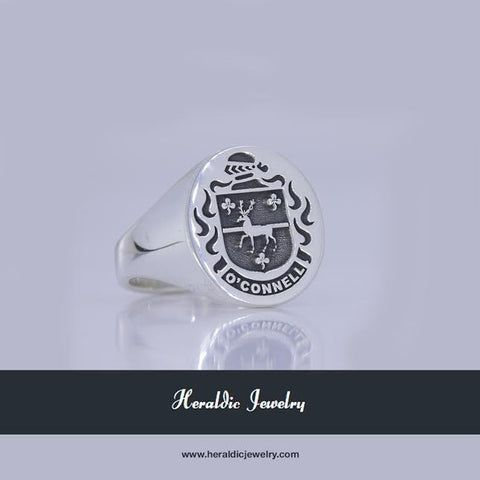 O'Connell family crest ring