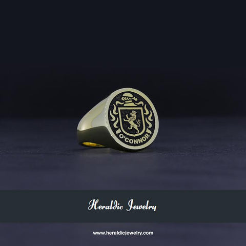 O'Connor family crest ring