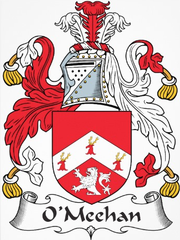 O'Meehan family crest