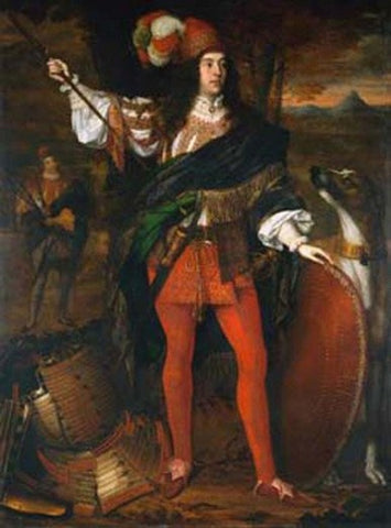 O'Neill chieftain circa 1680