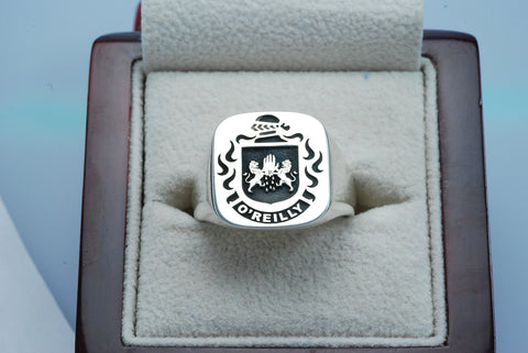O'Reilly family crest ring