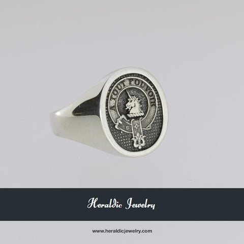 Oliphant clan crest ring