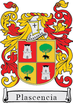 Plascencia Family Crest