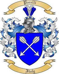 Pacelli family crest