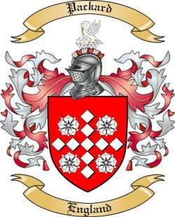 Packard family crest