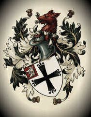 Parshall family crest