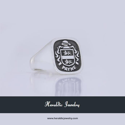 Payne family crest ring