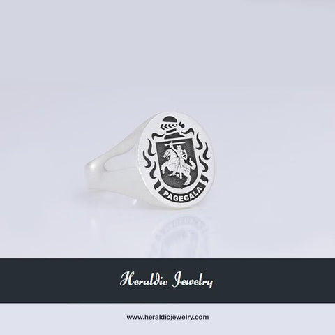Lithuania family crest ring