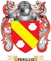 Perillo family crest